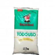 HARINA TRIGO ROBINHOOD 1KG TODO USO