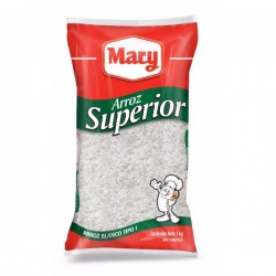 ARROZ  MARY 1KG BLANCO SUPERIOR