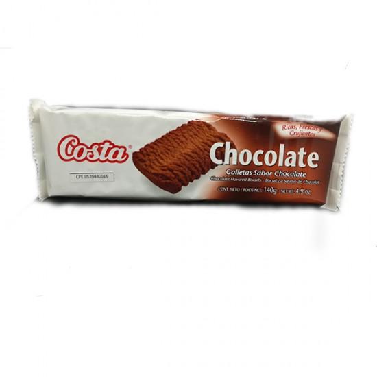 GALLETA COSTA 140GR CHOCOLATE